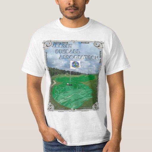 Jersey Pinball Association PinGolf - Spring 2010 T-shirts