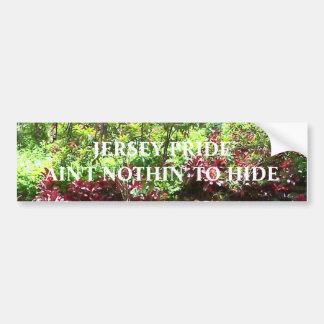 Jersey Pride Bumper Sticker