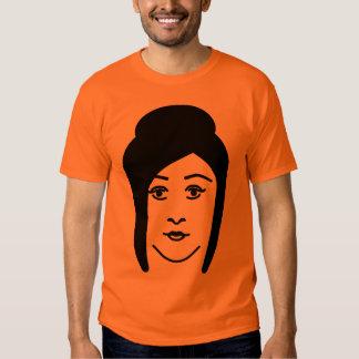 Jersey Pumpkin Face T Shirt