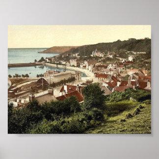 Jersey, santo Aubins, vin de las Islas del Canal,  Posters