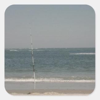 Jersey Seashore Square Sticker
