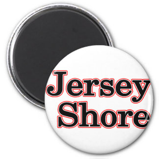 Jersey Shore 2 Inch Round Magnet