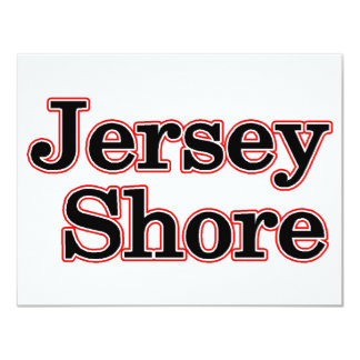 Jersey Shore 4.25x5.5 Paper Invitation Card