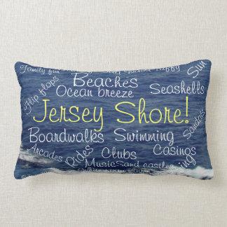 Jersey Shore Beach Waves Tranquility Pillow