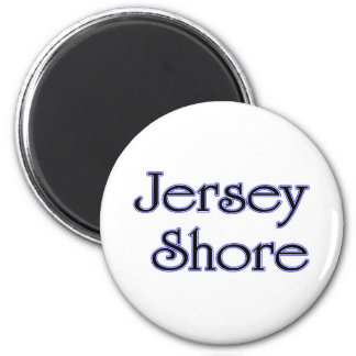 Jersey Shore blue 2 Inch Round Magnet