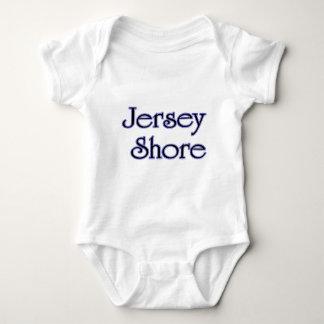 Jersey Shore blue Baby Bodysuit