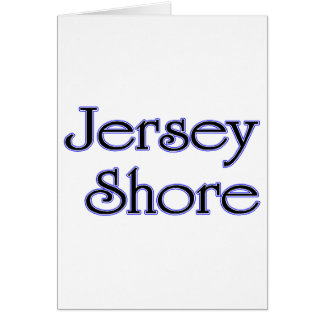 Jersey Shore blue Card