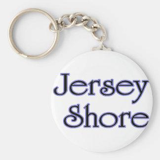 Jersey Shore blue Key Chains