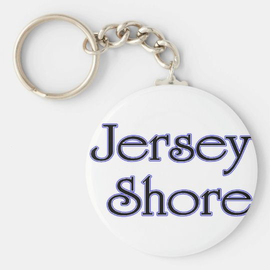 Jersey Shore blue Keychain