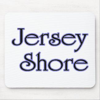 Jersey Shore blue Mouse Pad