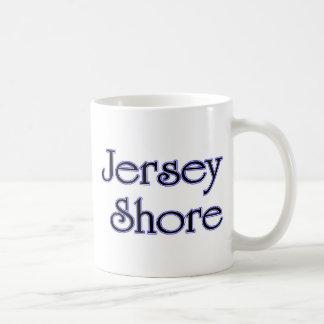 Jersey Shore blue Coffee Mugs