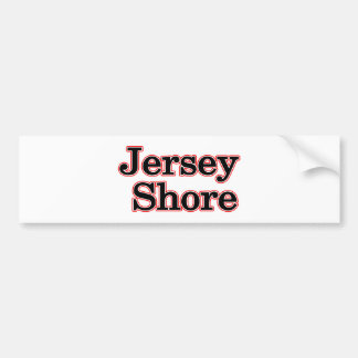 Jersey Shore Bumper Sticker