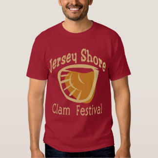 Jersey Shore Clam Festival 2 Tee Shirt