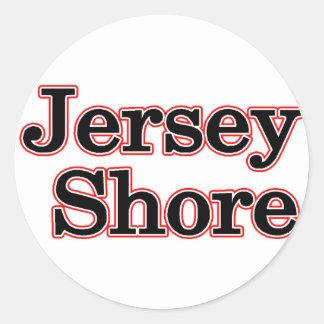 Jersey Shore Classic Round Sticker