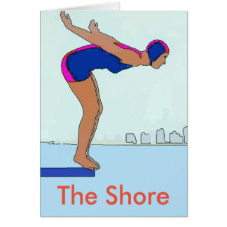 Jersey Shore Diver Card