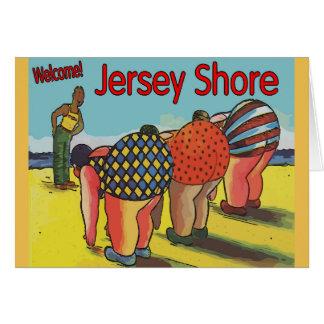Jersey Shore Exercise Class Card