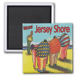 Jersey Shore Exercise Class Magnet