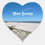 Jersey Shore Heart Sticker