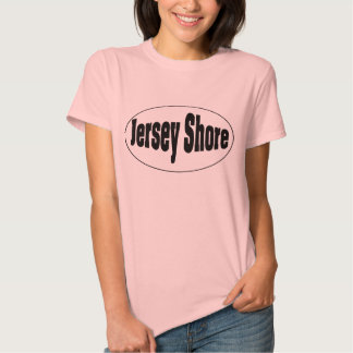 Jersey Shore Oval Tshirt