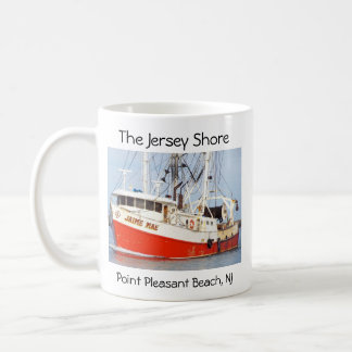 Jersey Shore - Pt. Pleasant Beach - Jaime Mae Classic White Coffee Mug