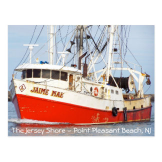 Jersey Shore - Pt. Pleasant Beach - Jaime Mae Postcard