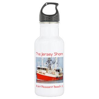 Jersey Shore - Pt. Pleasant Beach - Jaime Mae Stainless Steel Water Bottle