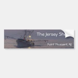 Jersey Shore - Pt Plsnt Bch - Fleet Boat Returning Bumper Sticker