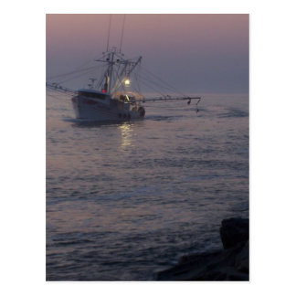 Jersey Shore - Pt Plsnt Bch - Fleet Boat Returning Postcard