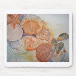 Jersey Shore Seashells Mug Mouse Pad