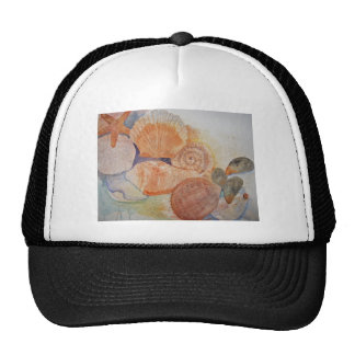 Jersey Shore Seashells Mug Trucker Hat