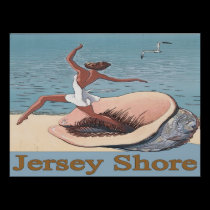 Jersey Shore, Shell Poster posters
