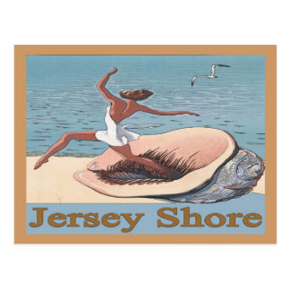 Jersey Shore, Shell Poster, Postcard