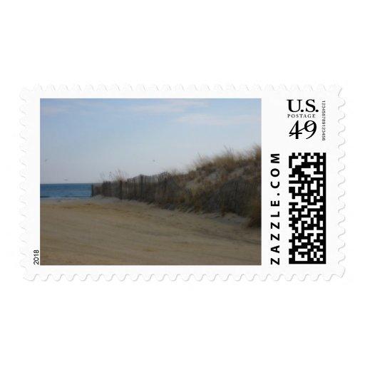 Jersey Shore * Softened Beach Postage Stamps