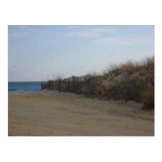 Jersey Shore * Softened Beach Postcard