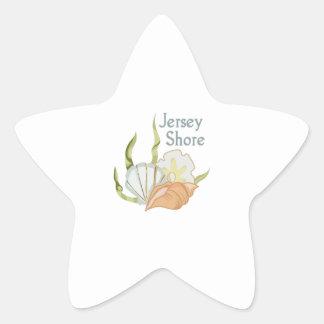 JERSEY SHORE STAR STICKER