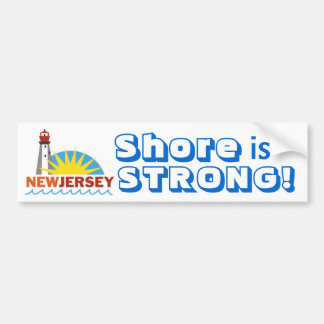 Jersey Shore Strong Bumper Stickers