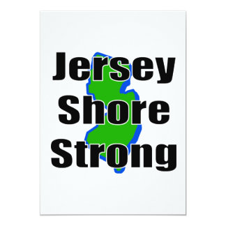 Jersey Shore Strong.png Custom Invitations