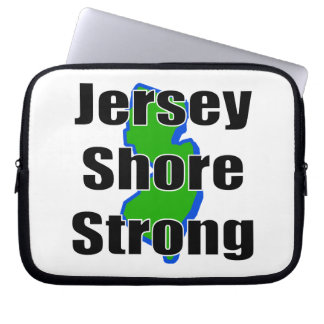 Jersey Shore Strong.png Laptop Sleeve