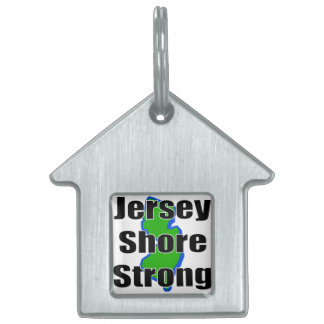 Jersey Shore Strong.png Pet Tag