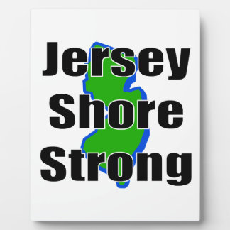 Jersey Shore Strong.png Display Plaque