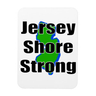 Jersey Shore Strong.png Rectangular Magnets