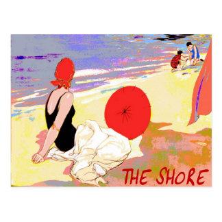 Jersey Shore Vintage Postcard