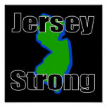 Jersey Strong Posters