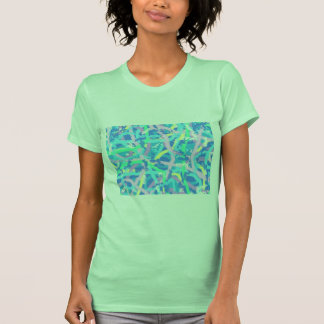Jersey T-Shirt Seaweed Sunlit Water Bubbles GReeN