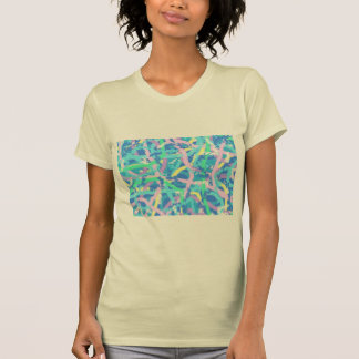 Jersey T-Shirt Seaweed Sunlit Water Bubbles PiNk