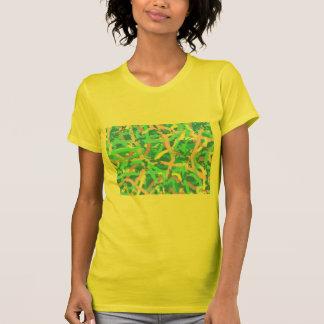 Jersey T-Shirt Seaweed Sunlit Water Bubbles YeLLoW