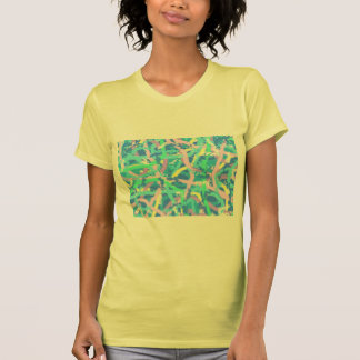 Jersey T-Shirt Seaweed Sunlit Water Bubbles YeLLoW