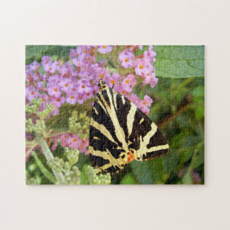 Jersey Tiger Butterfly Photo Puzzle with Gift Box