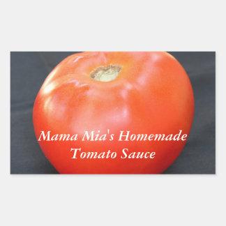 Jersey Tomato 4 Rectangular Sticker