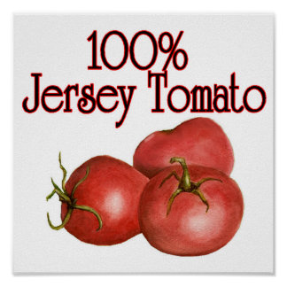 Jersey Tomato Poster